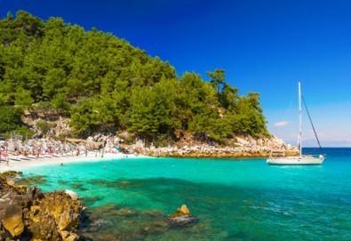 Майски празници на о. Тасос, Гърция! 3 нощувки със закуски, транспорт, фериботни такси и билети, със Запрянов Травел!