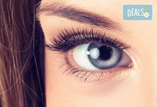 За магичен поглед! Удължаване и сгъстяване на мигли чрез снопчета по системата Magic lashes в салон за красота Denny Divine! - Снимка 1