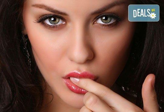 Неинжективна мезотерапия за плътни устни с хиалуронова киселина в Дерматокозметични центрове Енигма в София, Пловдив, Варна или Хасково - Снимка 1