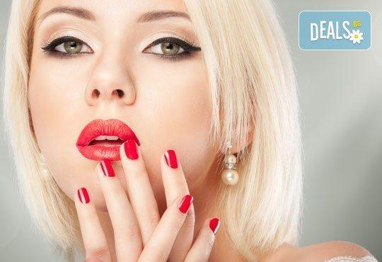 Бъдете стилни с класически маникюр с гел лак Bluesky или S&A, салон за красота Виктория - Снимка 1