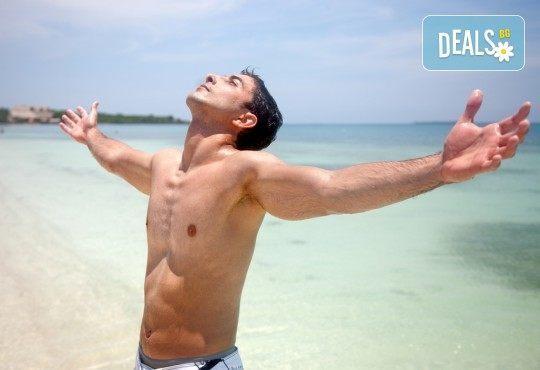 Фотоепилация на Lumenis USA с IPL технологии на цяло тяло за мъже (13 зони по избор) от център ''Енигма''! - Снимка 1