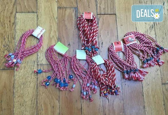 Бели и червени, румени, засмени! Голям пакет мартенички на супер цена от Работилница за мартеници - София! - Снимка 3