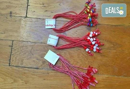 Бели и червени, румени, засмени! Голям пакет мартенички на супер цена от Работилница за мартеници - София! - Снимка 4