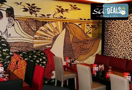 Опитайте Ципура на скара с гарнитура гриловани картофки и Пролетна салата с нахут и чери в ресторант ''Санури'' в Лозенец! - Снимка 2