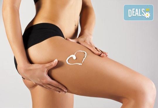 Извайте фигурата си за лятото с антицелулитен масаж на бедра, ханш и корем в студио за красота Долче Вита! - Снимка 1