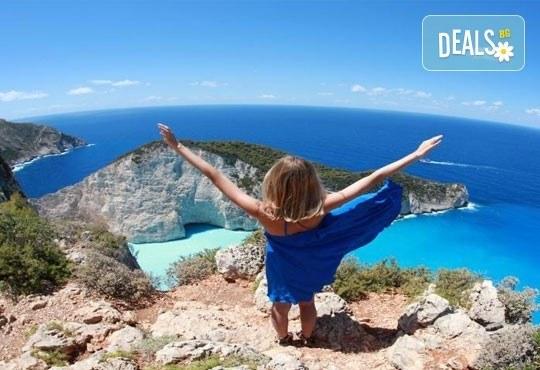 През юни на о. Закинтос - перлата на Йонийско море! 3 нощувки със закуски, транспорт, фериботни билети и програма! - Снимка 1