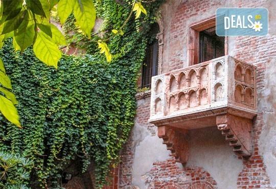 Майски празници в романтична Италия! 2 нощувки със закуски, транспорт и възможност за посещение на Венеция, Верона и Падуа! - Снимка 7
