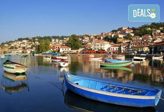 Слънчев уикенд в Охрид, Македония с Караджъ Турс! 2 нощувки със закуски, 1 вечеря, програма в Скопие и Охрид, транспорт - Снимка 6