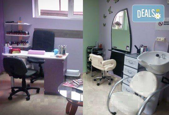Подредете прическата! Подстригване, измиване и оформяне със сешоар по избор на клиента в салон Бели Дунав! - Снимка 4