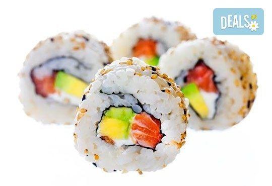 Голям суши сет от Sushi King! Вземете 108 перфектни суши хапки в cуши сет Shogun *Special* на страхотна цена! - Снимка 1