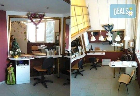 Красиви ръце с маникюр с гел лак Bluesky, две декорации и безплатно отстраняване на стар гел лак, Салон Руж! - Снимка 2