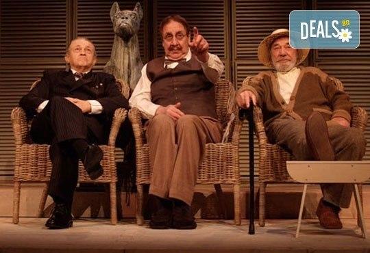 Гледайте Стефан Мавродиев в комедията Вятърът в тополите, Младежки театър, камерна зала, на 10.03., 19ч. - един билет! - Снимка 1