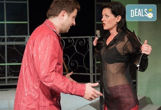 Асен Блатечки във великолепната комедия Бившата жена на моя живот на 11.03, 19 ч., Открита сцена, театър Сълза и смях - Снимка 2