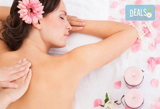 Релаксирайте с 60-минутен класически, болкоуспокояващ или арома масаж и зонотерапия с натурални етерични масла в Студио Кинези плюс - Снимка 1