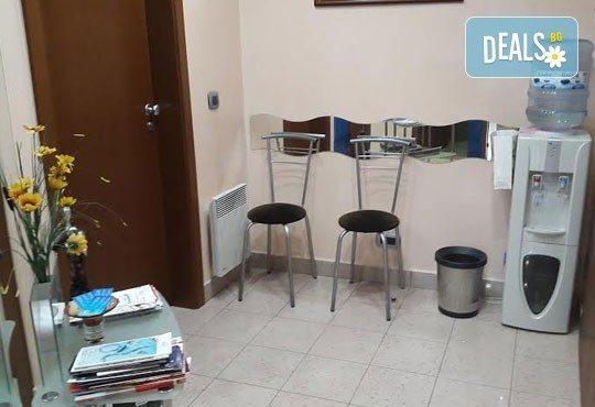 Почистване на зъбен камък и плака с ултразвук, полиране с Air Flow, бонус обстоен стоматологичен преглед от д-р Джорджев - Снимка 4