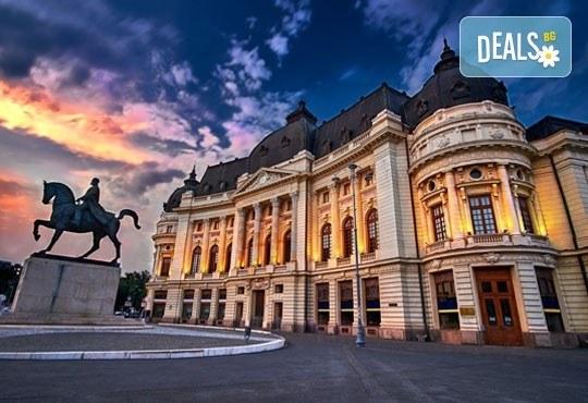 Уикенд в Букурещ, Румъния! 1 нощувка със закуска, панорамна обиколка, водач и транспорт от Молина Травел! - Снимка 1