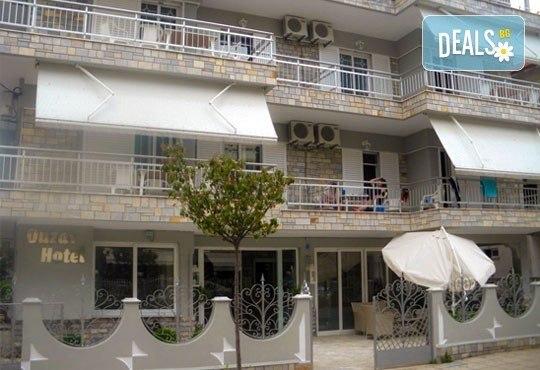 Почивка на Олимпийската ривиера, Гърция през май! 1 нощувка без изхранване, със закуска или със закуска и вечеря за двама/трима в Ouzas Hotel! - Снимка 5