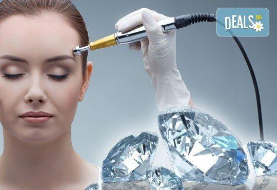 За чиста кожа! Диамантено микродермабразио, мезотерапия на лице и околоочен контур и криотерапия в салон за красота АБ! - Снимка 1