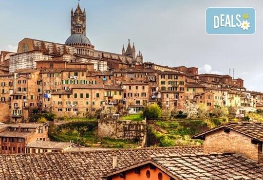 Екскурзия до очарователната Тоскана през март! 5 нощувки, 5 закуски, 3 вечери, самолетен билет и автобусен транспорт! - Снимка 1