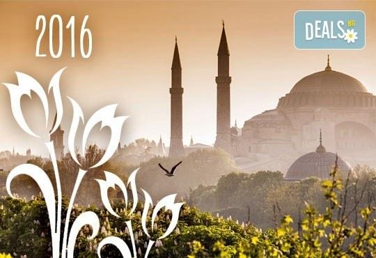 Екскурзия за Фестивала на лалето в Истанбул през април: 2 нощувки, 2 закуски, транспорт и екскурзовод от Еко Тур! - Снимка 1