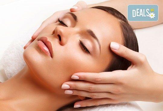 Луксозна терапия за двама: релаксиращ масаж за него и регенерираща терапия за лице за нея в Senses Massage & Recreation - Снимка 2