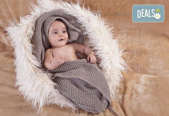 2 часа студийна фотосесия за новородени, бебета и деца до 9 г., 15 обработени кадъра от ProPhoto Studio! - Снимка 8