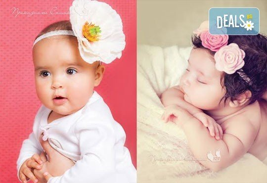 Бебешка и семейна фотосесия в студио с 12 обработени кадъра от Приказните снимки! - Снимка 6