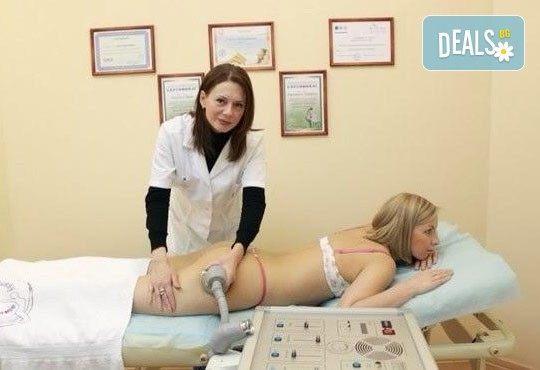 Отслабваща, антицелулитна процедура - комбинация от вакуум с инфрачервена светлина и стягащи тренировки от Victoria Sonten! - Снимка 3