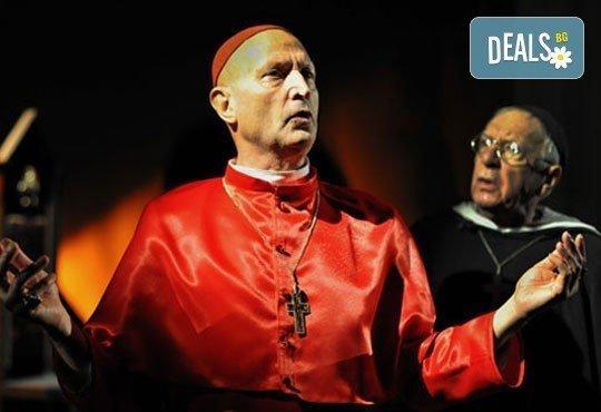 Гледайте великолепния Вельо Горанов във Великият инквизитор на 22.03, от 19ч, Открита сцена Сълза и смях - Снимка 1