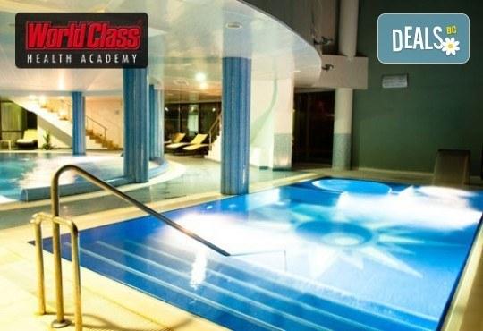 Едномесечна карта за неограничени посещения на фитнес, групови спортни занимания, басейни и СПА зона в World Class Health Academy Spa & Fitness! - Снимка 2
