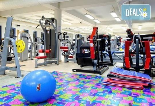 Фитнес JK PRO GYM Ви предлага месечна карта за 4 посещения фитнес и 20 минути солариум! - Снимка 3