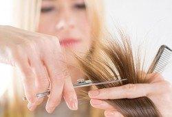 Подстригване, кератинова или арганова терапия и сешоар, студио Ma Belle