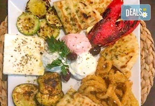 Неустоимо предложение! Пренесете се в съседна Гърция с гръцки специалитет за двама в ресторант MFusion, Варна! - Снимка 1