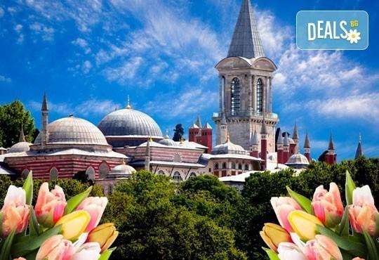 Потвърдена екскурзия за Фестивала на лалето, Истанбул! 2 нощувки със закуски в хотел 3* и транспорт от Пловдив! - Снимка 1