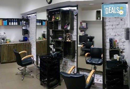 Стилът Омбре - майсторски изпълнен от стилисти Боби Ярчев и Маги Андреева с цветовете на Wella Koleston Perfekt и страхотна прическа със сешоар в BM Hair Studio - Снимка 5