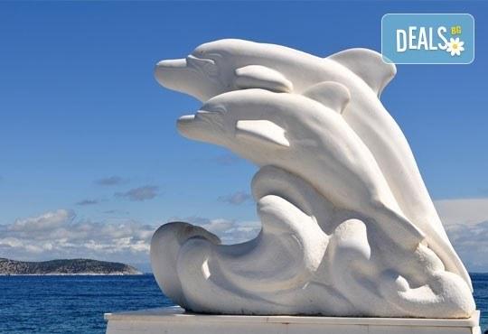 Еднодневна екскурзия до слънчевия остров Тасос, Гърция с транспорт и екскурзовод, Еко Тур! - Снимка 1