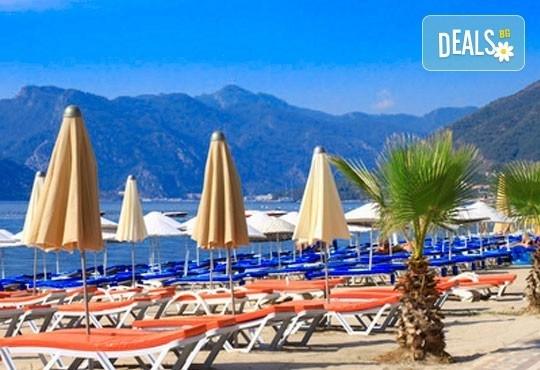 Майски празници в Мармарис, Турция! 5 нощувки на база Ultra All Inclusive в Ideal Prime Beach Hotel 5* и 2 нощувки със закуски и вечери в хотел 4*, Айвалък! - Снимка 1