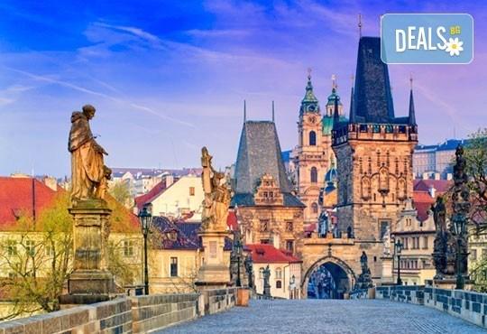 Майски празници в красивите Прага, Братислава и Будапеща с Вени Травел! 3 нощувки със закуски, транспорт и екскурзия до замъка Славков! - Снимка 1