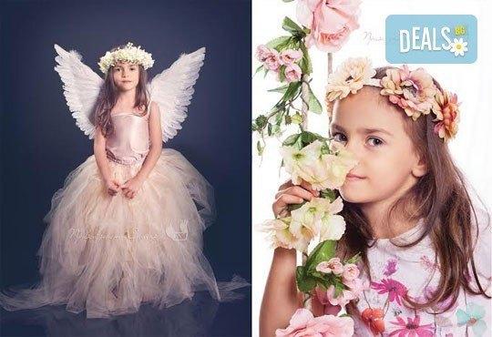 Детска и семейна студийна фотосесия с уникални декори, за деца от 10 месеца до 12 г., от Приказните снимки! - Снимка 6