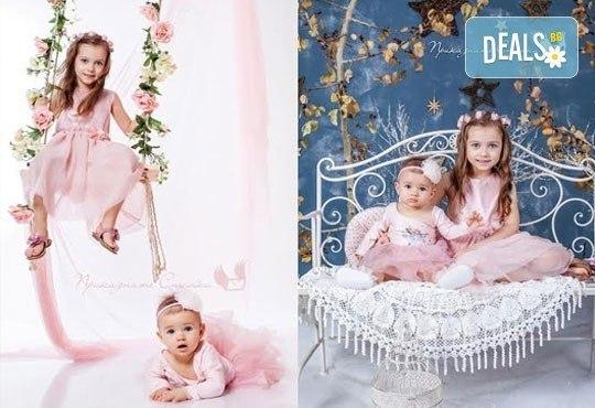 Детска и семейна студийна фотосесия с уникални декори, за деца от 10 месеца до 12 г., от Приказните снимки! - Снимка 9
