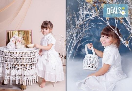 Детска и семейна студийна фотосесия с уникални декори, за деца от 10 месеца до 12 г., от Приказните снимки! - Снимка 7