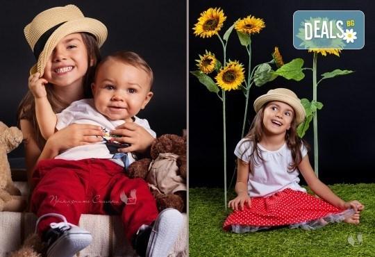 Детска и семейна студийна фотосесия с уникални декори, за деца от 10 месеца до 12 г., от Приказните снимки! - Снимка 4
