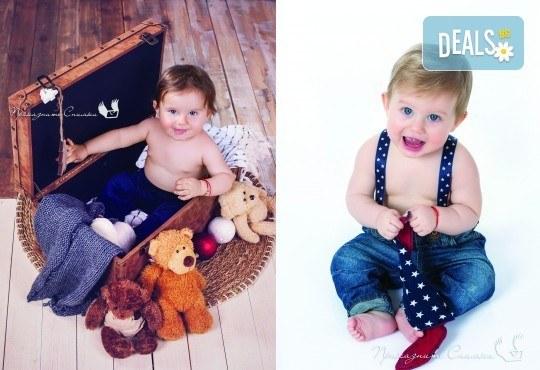 Детска и семейна студийна фотосесия с уникални декори, за деца от 10 месеца до 12 г., от Приказните снимки! - Снимка 14