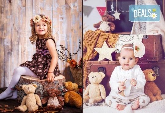 Детска и семейна студийна фотосесия с уникални декори, за деца от 10 месеца до 12 г., от Приказните снимки! - Снимка 16