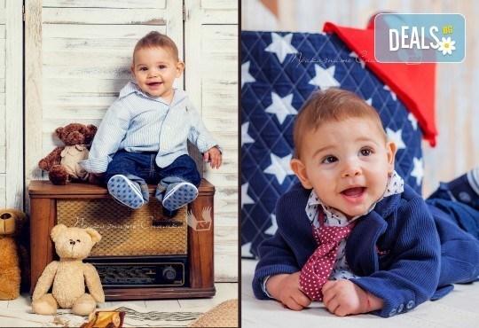Детска и семейна студийна фотосесия с уникални декори, за деца от 10 месеца до 12 г., от Приказните снимки! - Снимка 17