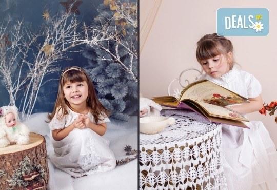 Детска и семейна студийна фотосесия с уникални декори, за деца от 10 месеца до 12 г., от Приказните снимки! - Снимка 18