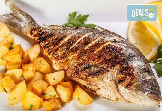 Средиземноморски кулинарен круиз за двама! Две порции риба по избор: Балканска пъстърва или Норвежка скумрия и гарнитура в Ресторант BALITO 3 в жк Надежда - Снимка 2