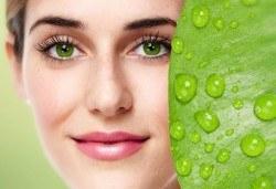 Мануално почистване на лице с медицинска козметика в Салон MISS BEAUTY