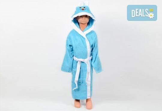 Подарете на Вашето дете нежно докосване и страхотна външност със забавен детски халат, 100% памук от SPALNOBELIO.BG! - Снимка 2