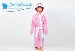Забавен детски халат с лице и уши на качулката от SPALNOBELIO.BG
